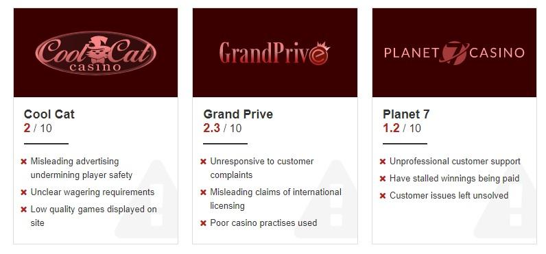 東南亞線上賭場(娛樂城)黑網名單出爐!九個被列為不歡迎對象的原因曝光